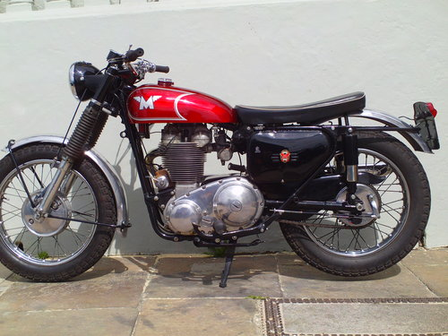 1966 MATCHLESS G80 CS SOLD (picture 3 of 6)