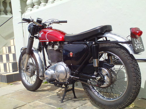 1966 MATCHLESS G80 CS SOLD (picture 4 of 6)