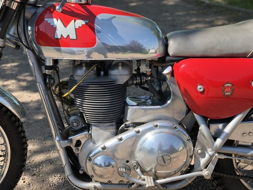 Matchless G85CS 1966 500cc. The 1966 G85CS SOLD (picture 4 of 6)