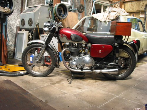 1959 Matchless G12 DeLuxe Low mileage SOLD (picture 1 of 2)