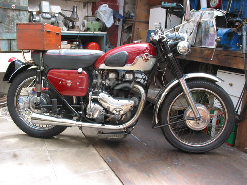 1959 Matchless G12 DeLuxe Low mileage SOLD (picture 2 of 2)
