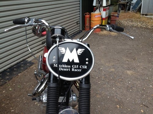 MATCHLESS G15CSR, 750cc, 1965 C REG SOLD (picture 4 of 4)