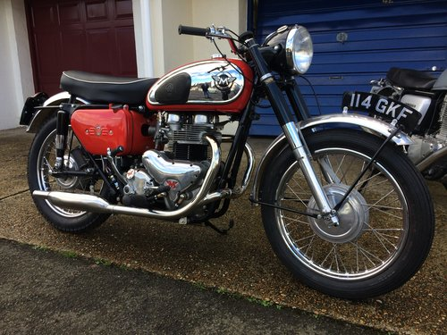 1961 Matchless G12CSR - Restored SOLD (picture 1 of 4)