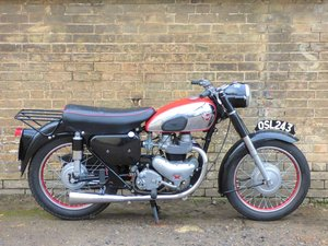 1956 Matchless G11 600cc SOLD
