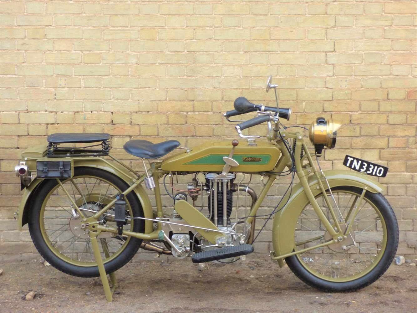 1926 Matchless Model M 591cc SOLD (picture 1 of 6)