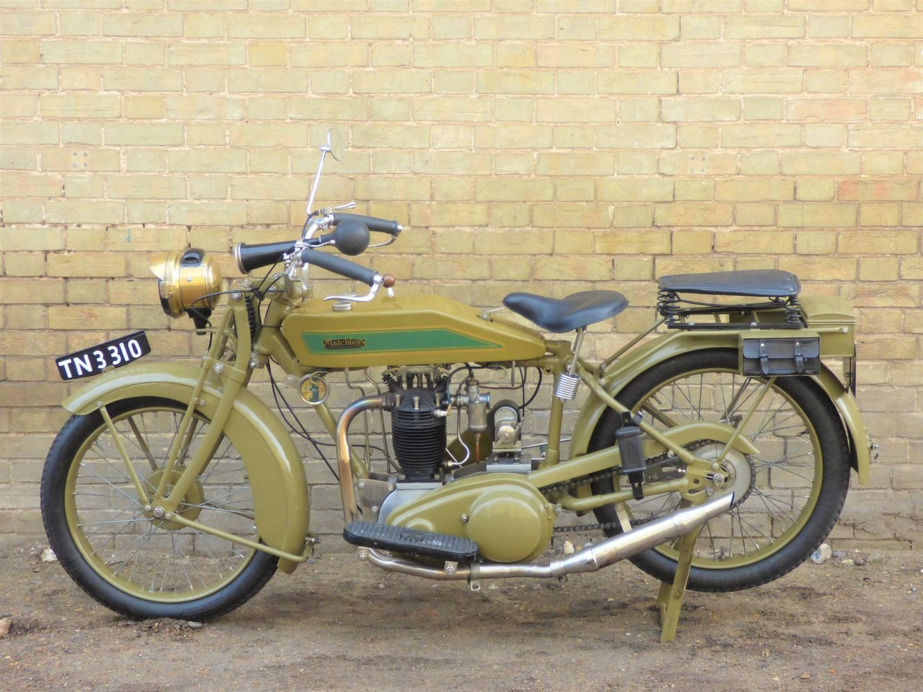 1926 Matchless Model M 591cc SOLD (picture 2 of 6)