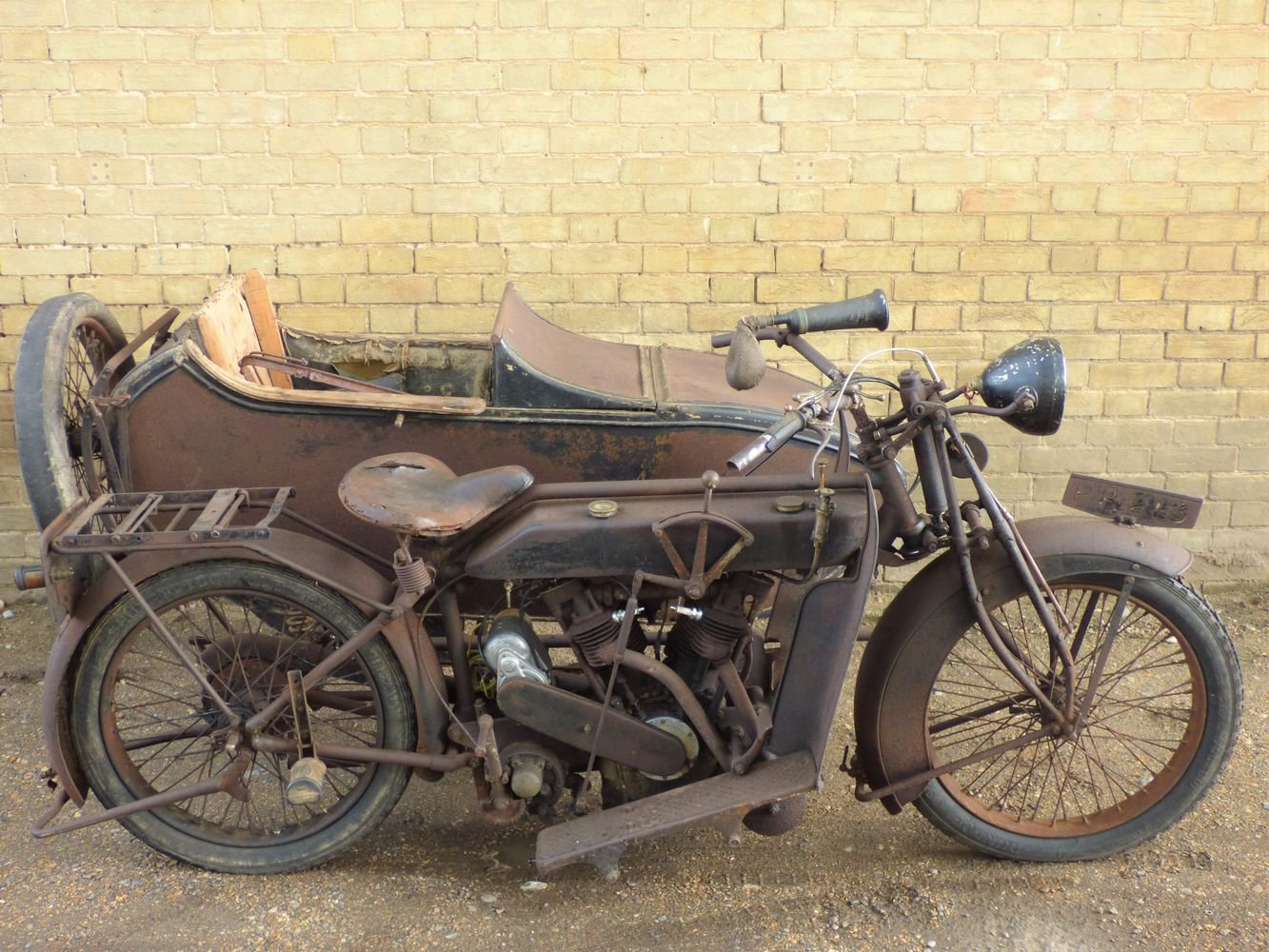 1923 Matchless Model J/2 1000cc combination For Sale (picture 1 of 6)