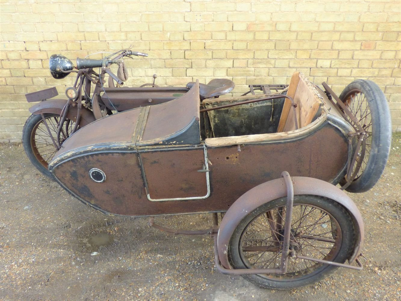 1923 Matchless Model J/2 1000cc combination For Sale (picture 2 of 6)