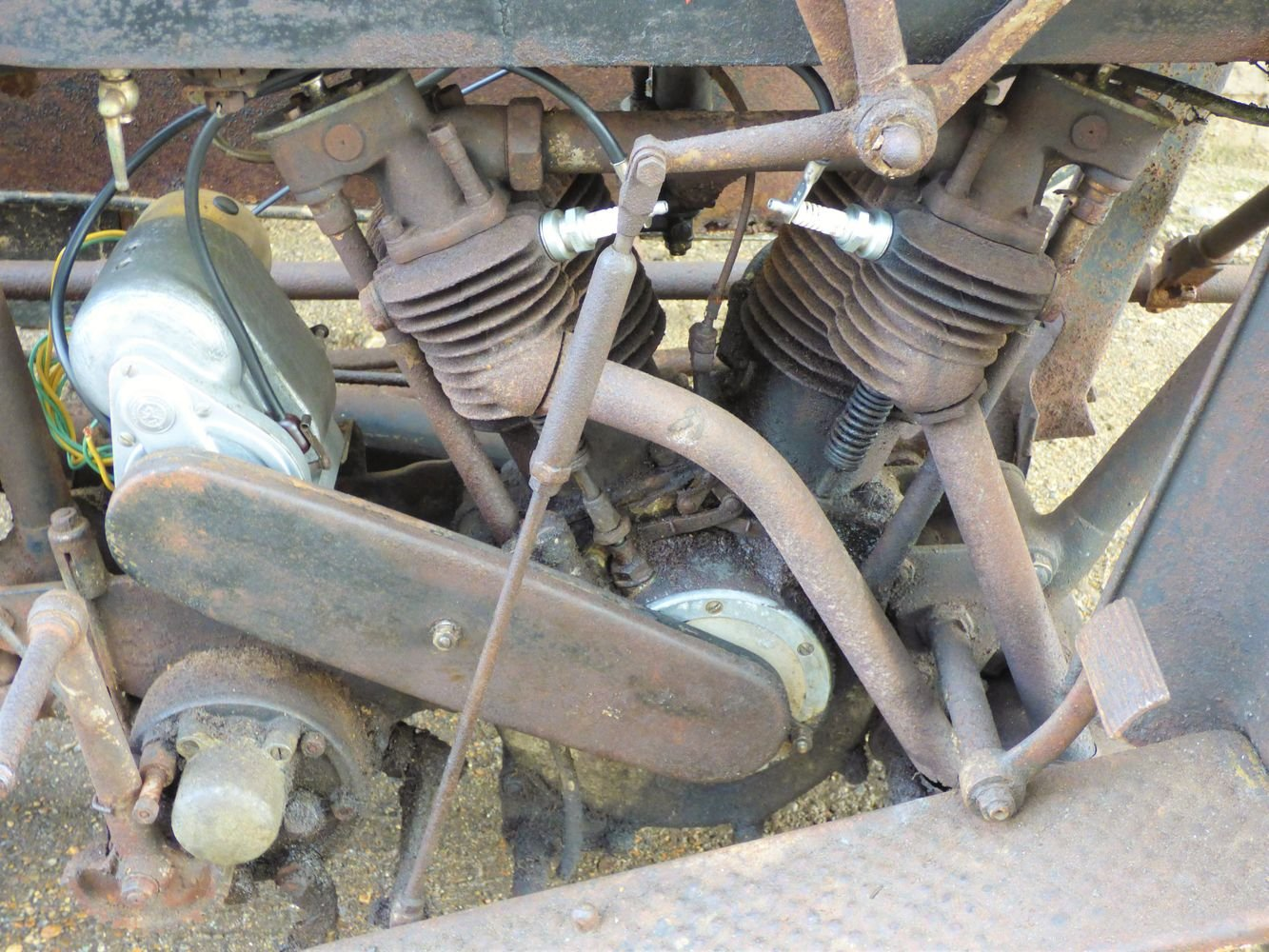 1923 Matchless Model J/2 1000cc combination For Sale (picture 4 of 6)