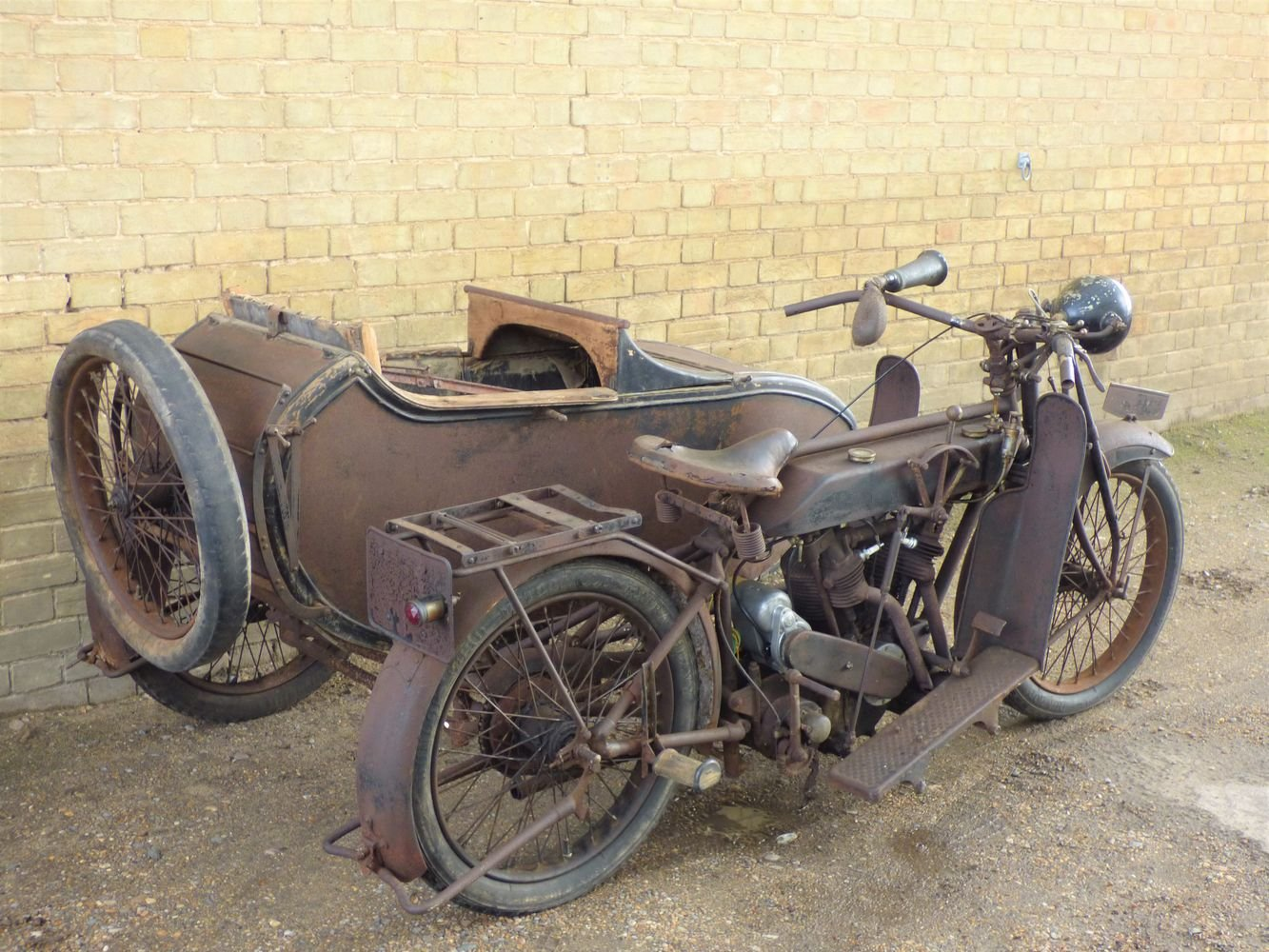 1923 Matchless Model J/2 1000cc combination For Sale (picture 5 of 6)