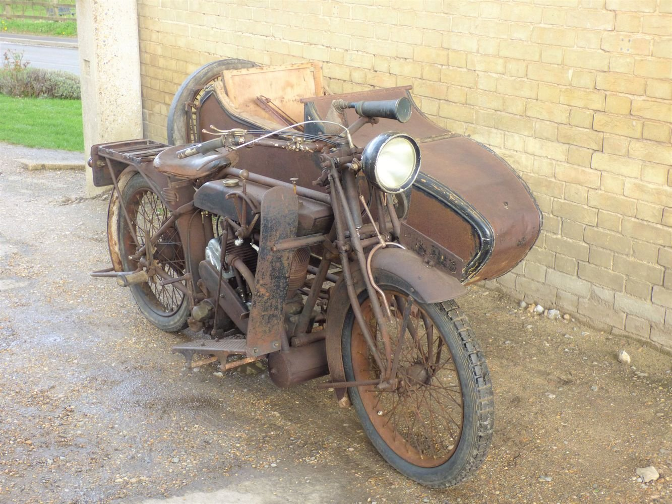 1923 Matchless Model J/2 1000cc combination For Sale (picture 6 of 6)