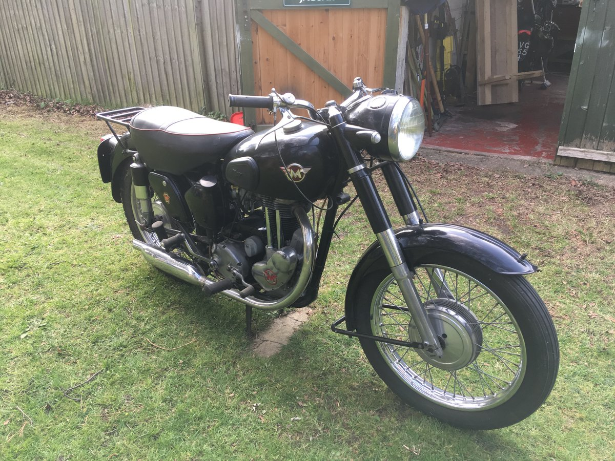 1954 Matchless G3LS tel: 07484 541331 For Sale (picture 1 of 6)
