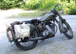 1941 WW2 Matchless G3L ready to go