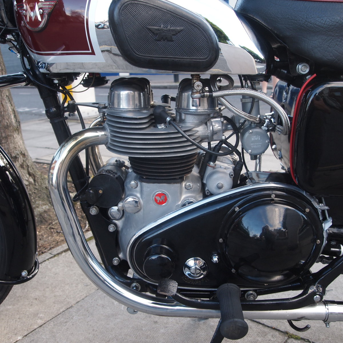 1956 G9 500cc Twin. Great Condition. RESERVED FOR GEOFF. SOLD (picture 2 of 6)