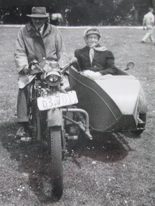 1914 Matchless Motorcycle.