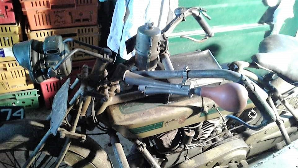 1914 Matchless Motorcycle. For Sale (picture 2 of 6)