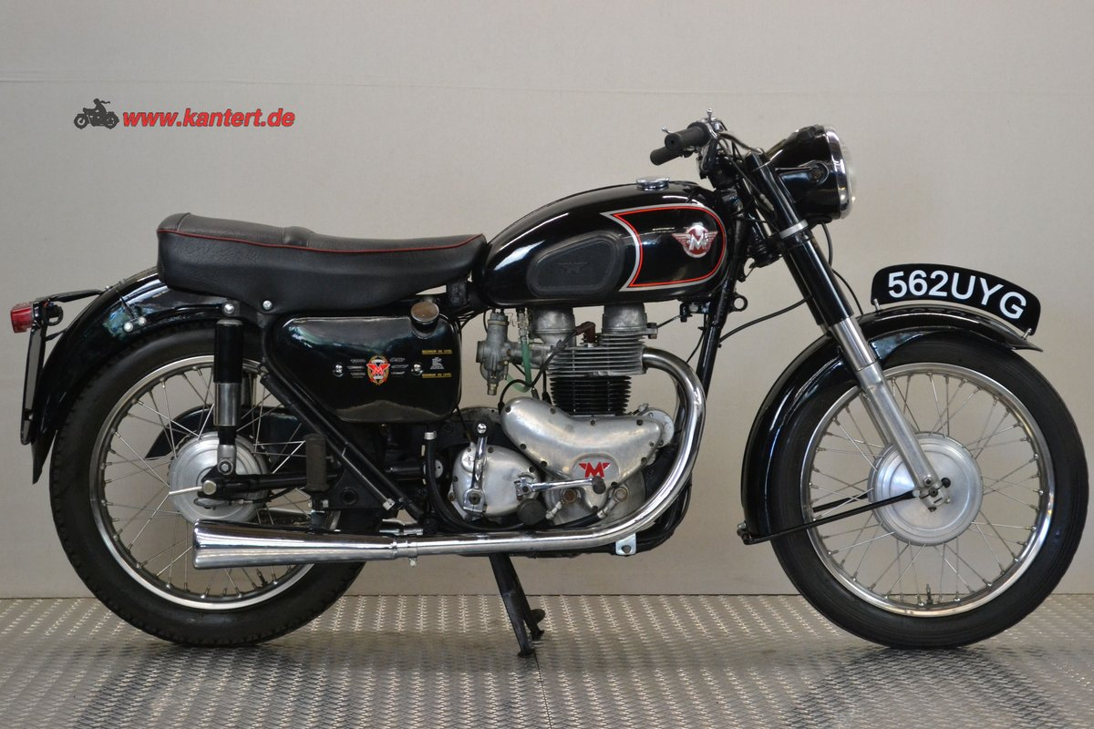 1961 Matchless 650 G 12, 646 cc, 49 hp For Sale (picture 1 of 6)