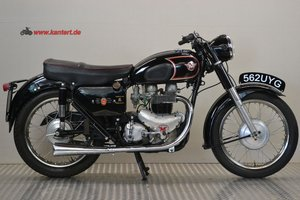 1961 Matchless 650 G 12, 646 cc, 49 hp
