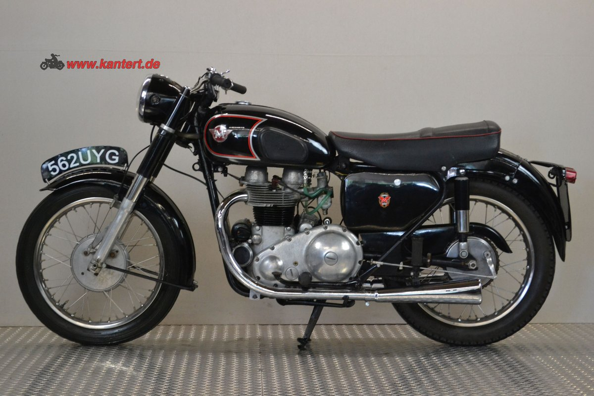 1961 Matchless 650 G 12, 646 cc, 49 hp For Sale (picture 2 of 6)