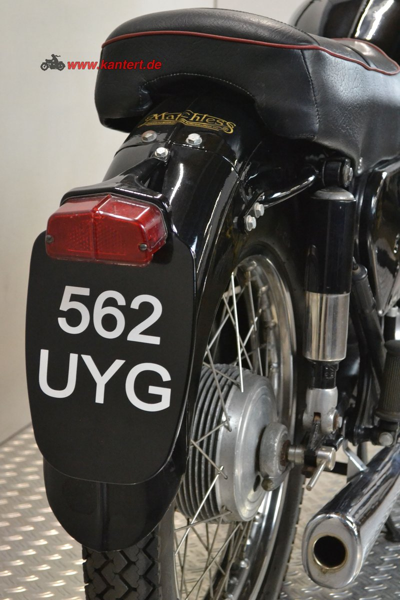 1961 Matchless 650 G 12, 646 cc, 49 hp For Sale (picture 5 of 6)