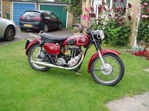 Matchless G80S 1955 500cc single