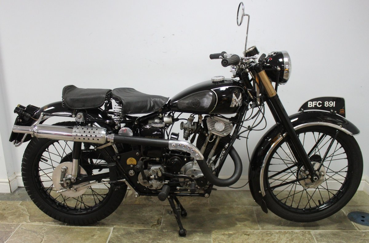 1935 Matchless F4 Sports 250 cc OHV Sloper , Unique SOLD (picture 1 of 6)