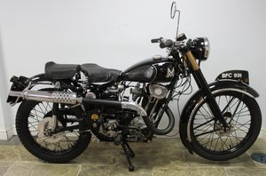 1935 Matchless F4 Sports 250 cc OHV Sloper , Unique SOLD