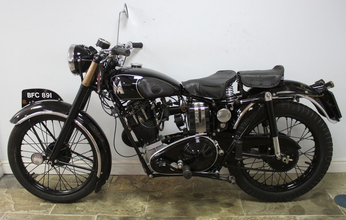 1935 Matchless F4 Sports 250 cc OHV Sloper , Unique SOLD (picture 4 of 6)