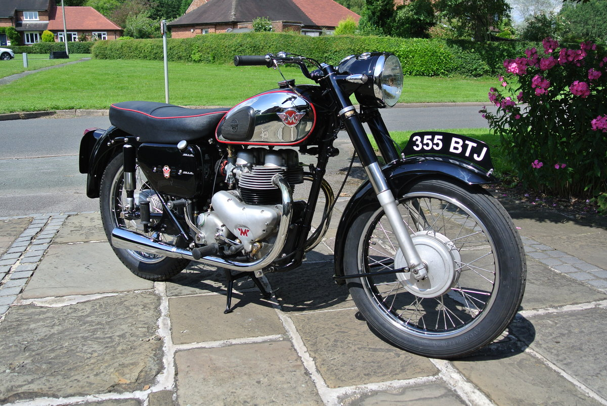 1957 Matchless G9 Deluxe - Fully restored. SOLD (picture 1 of 5)