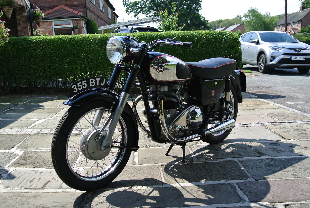 1957 Matchless G9 Deluxe - Fully restored. SOLD (picture 3 of 5)