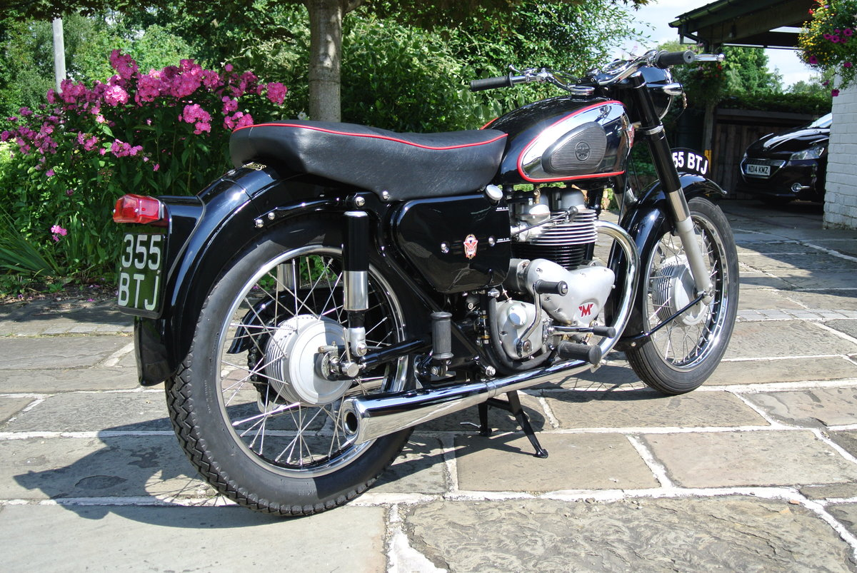 1957 Matchless G9 Deluxe - Fully restored. SOLD (picture 4 of 5)