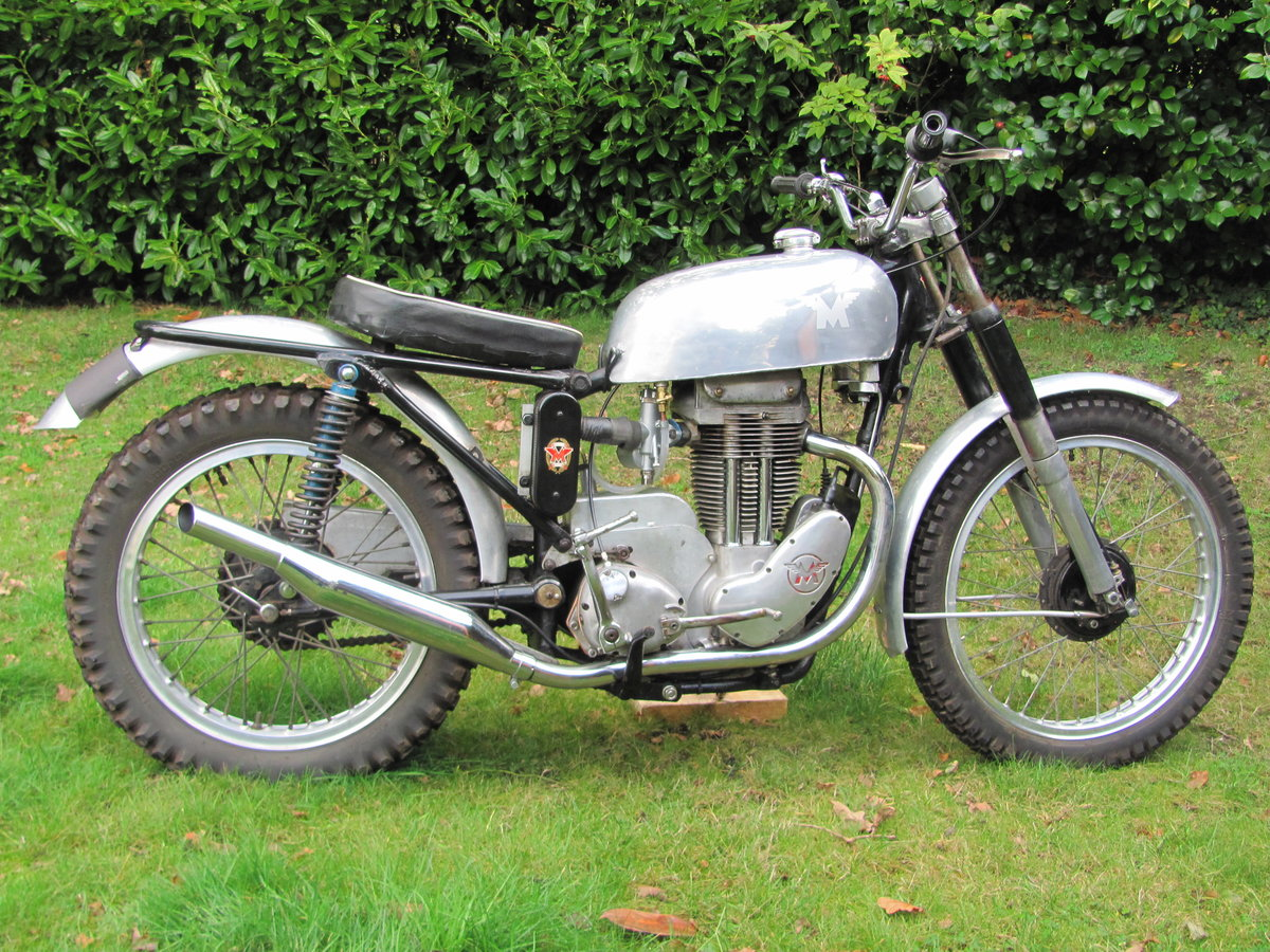 1957 Matchless G3L/C Trials Bike For Sale (picture 1 of 6)