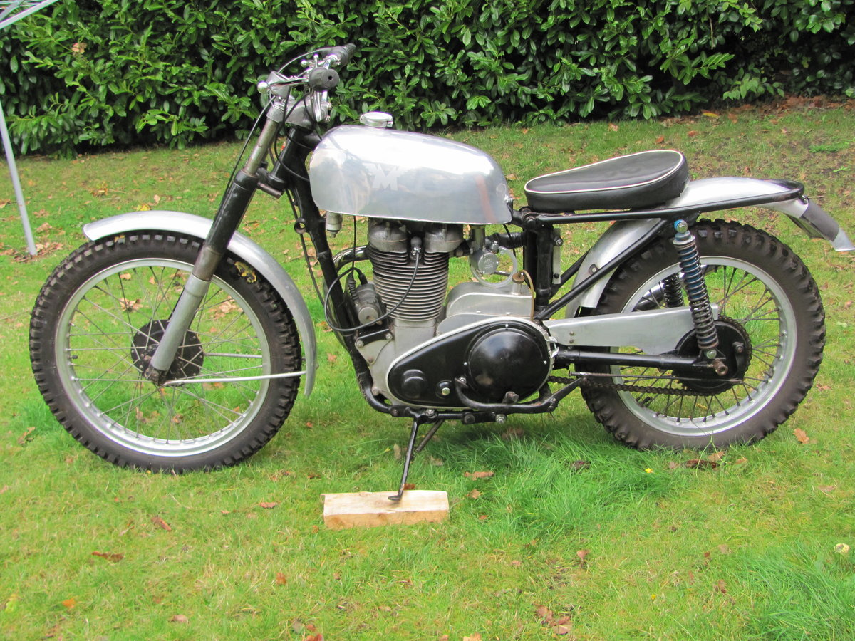 1957 Matchless G3L/C Trials Bike For Sale (picture 2 of 6)