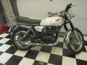 1988 Matchless G80 - Very low KM Rare  For Sale