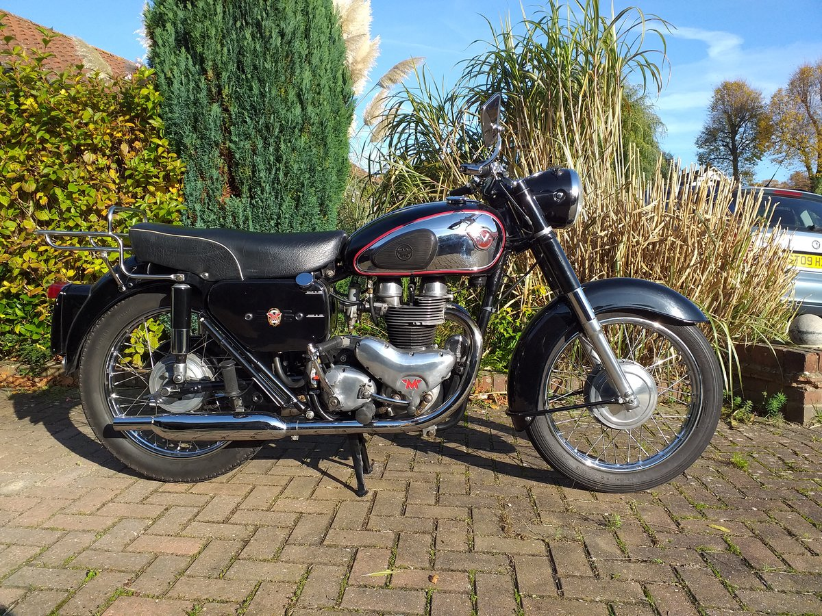 1960 Matchless G12 650cc SOLD (picture 1 of 5)
