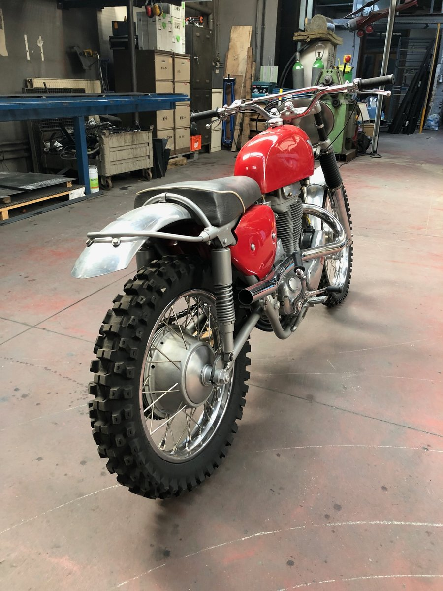 1966 Matchless G85CS Brandnew For Sale (picture 6 of 6)