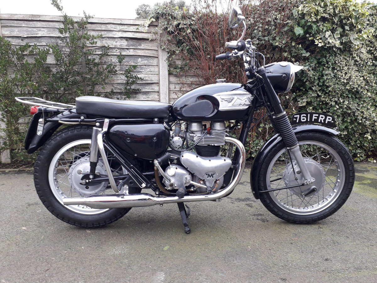 1963 Matchless C12 650cc SOLD (picture 1 of 6)