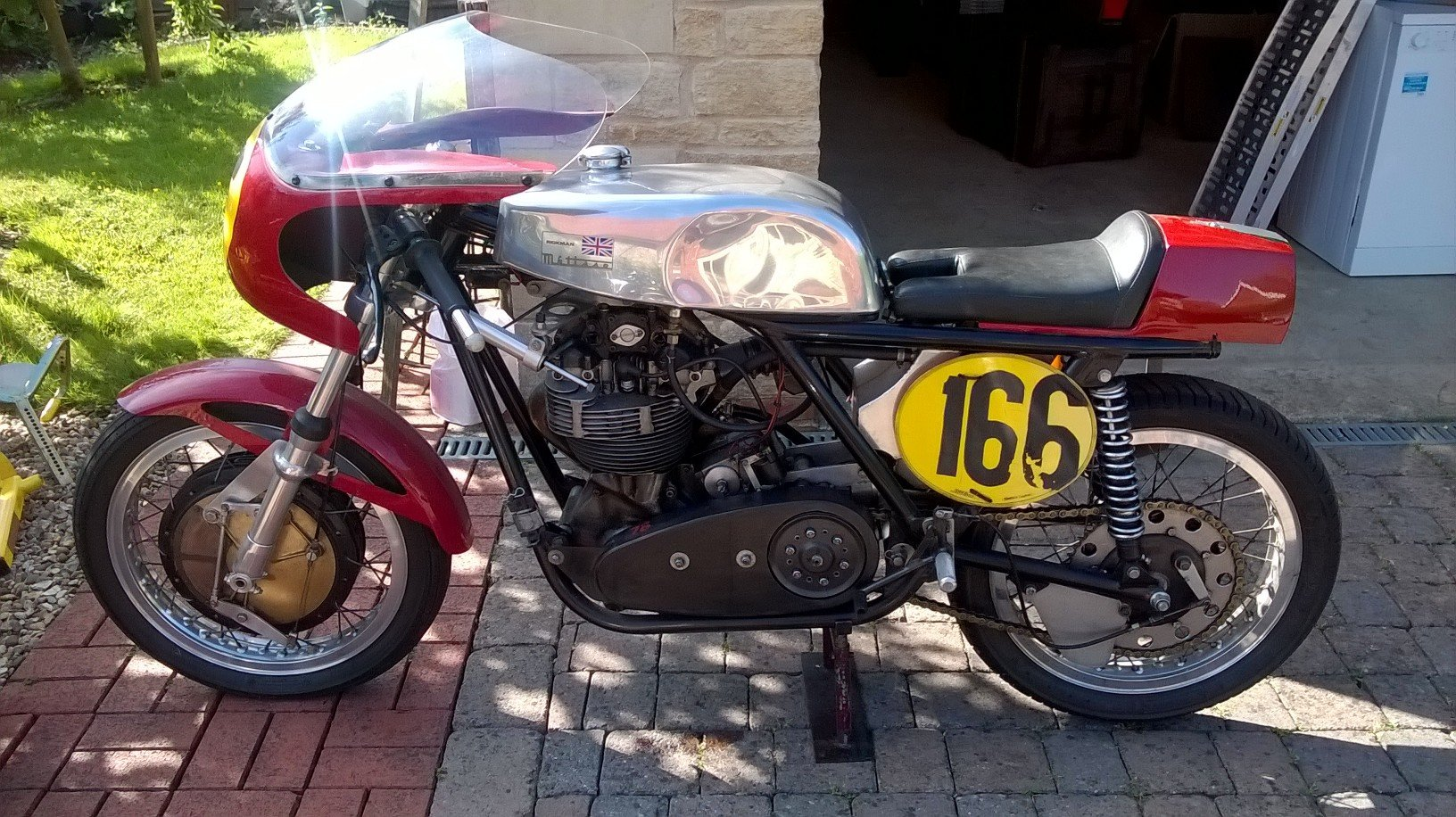 1961 Matchless G-50 Metisse Racer For Sale (picture 1 of 2)