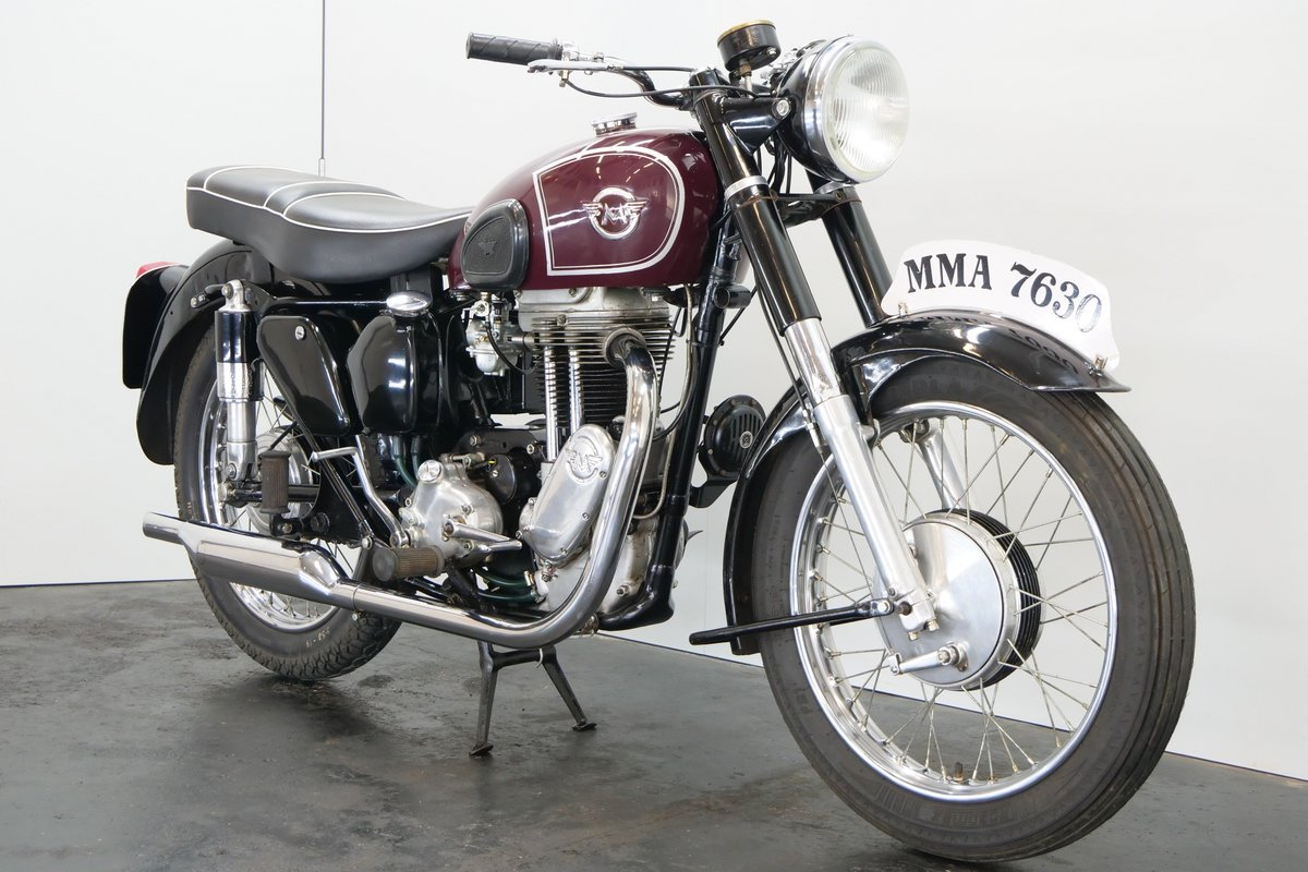 Matchless G80 1955 500cc 1 cyl ohv For Sale (picture 4 of 6)