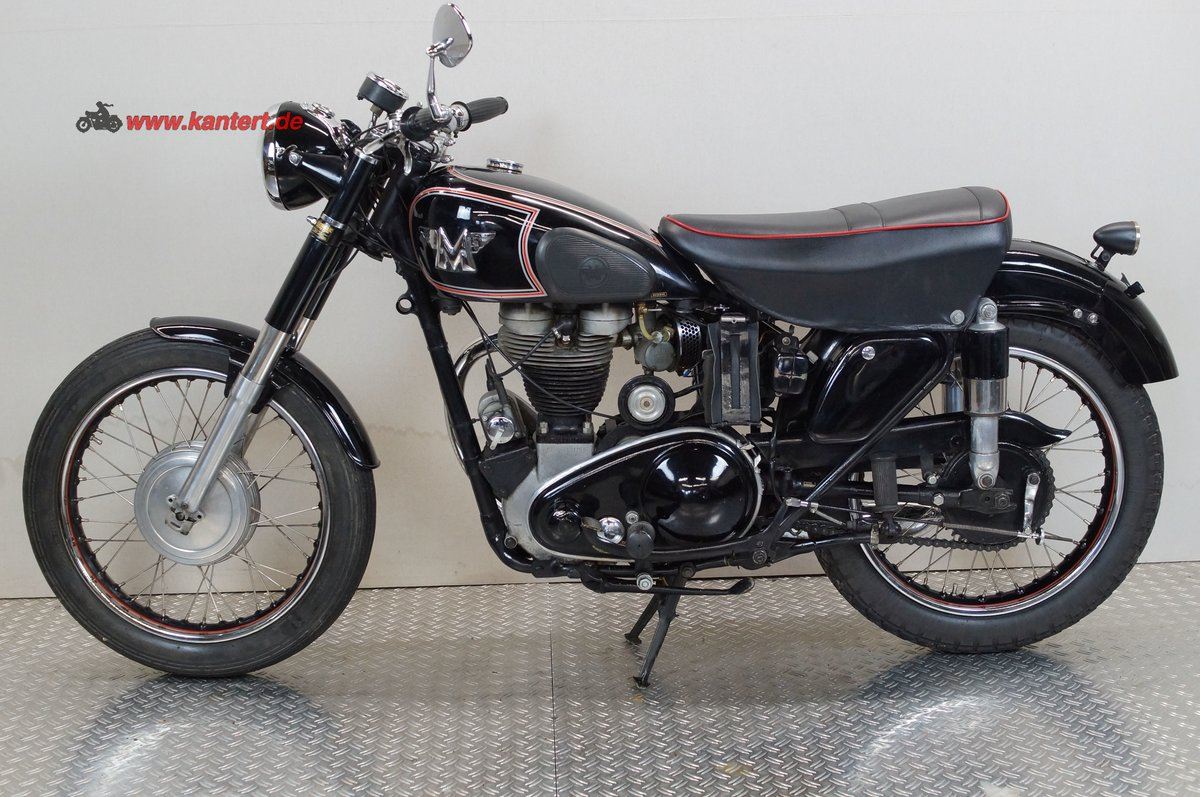 1952 Matchless 350 Typ 3GL, 16 hp, 348 cc For Sale (picture 1 of 12)