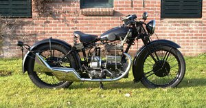1933 Matchless Silver arrow with Dänisch papers