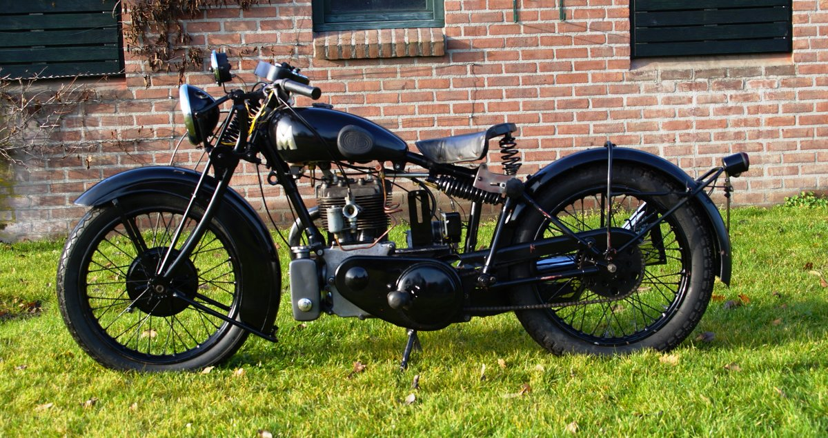 1933 Matchless Silver arrow with Dänisch papers  For Sale (picture 2 of 4)