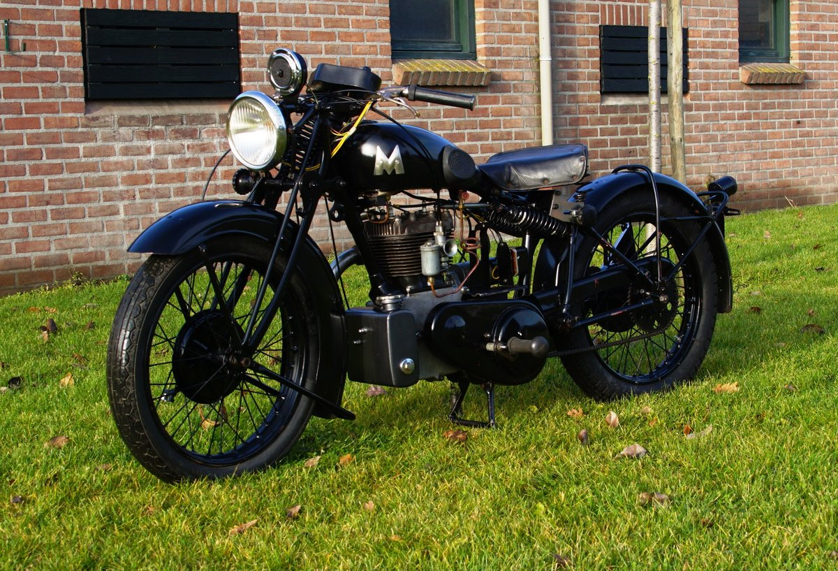 1933 Matchless Silver arrow with Dänisch papers  For Sale (picture 3 of 4)