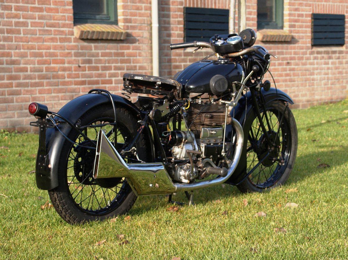 1933 Matchless Silver arrow with Dänisch papers  For Sale (picture 4 of 4)