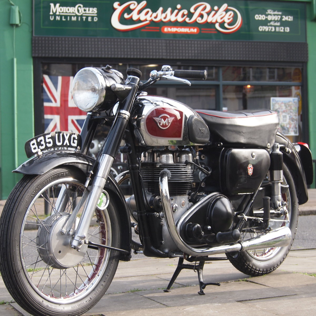 1956 Matchless G9 500cc  RESERVED FOR AGNES. SOLD (picture 1 of 6)