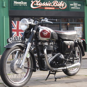 1956 Matchless G9 500cc  RESERVED FOR AGNES. SOLD