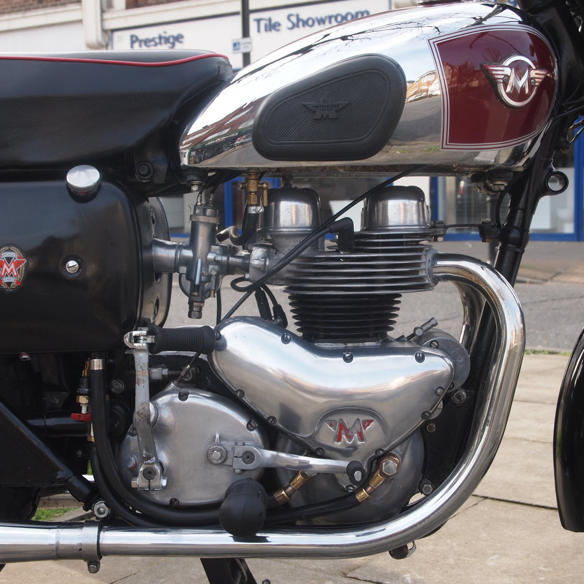 1956 Matchless G9 500cc  RESERVED FOR AGNES. SOLD (picture 2 of 6)