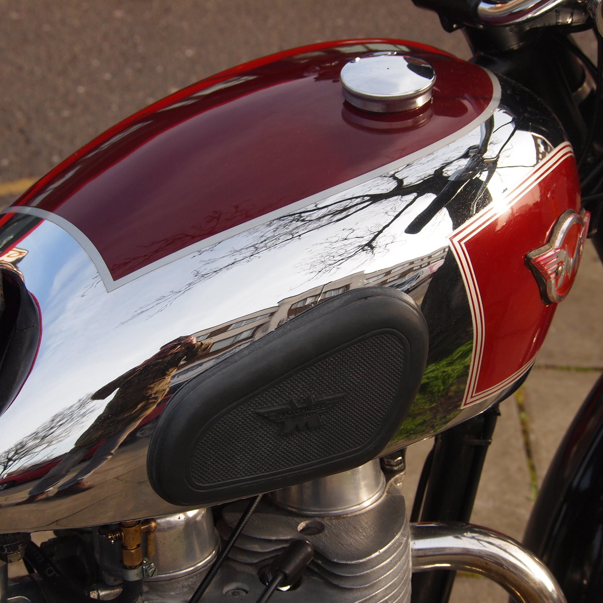 1956 Matchless G9 500cc  RESERVED FOR AGNES. SOLD (picture 6 of 6)