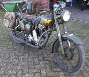 Matchless G3L in dutch army trim fully original