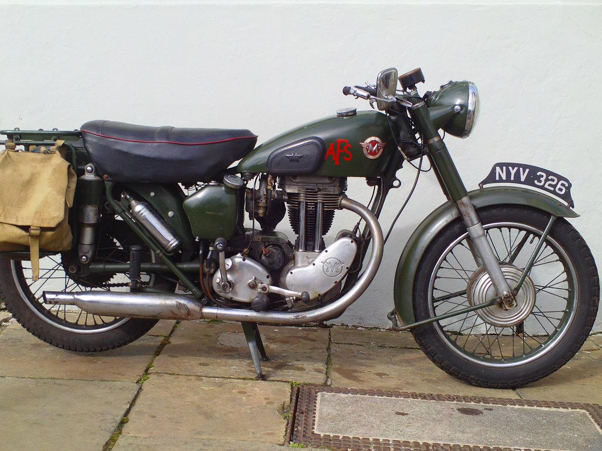 1955 MATCHLESS G3LS AFS  SOLD (picture 1 of 6)
